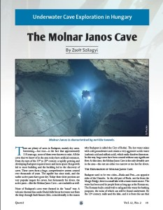 Janos Molnar Cave article