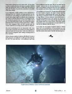 Janos Molnar Cave article